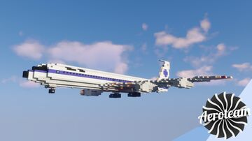 Boeing 707-320B   DOWNLOAD Minecraft Map & Project