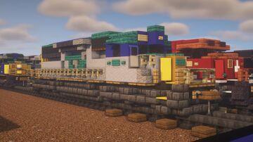 """CSX - EMD SD40-2 """"YN1"""" Minecraft Map & Project"""