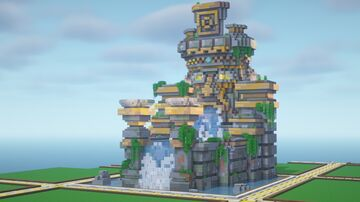 Small Jungle Temple Minecraft Map & Project