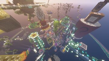 Bowsers Jump and Run v1.1 1.16.4 Minecraft Map & Project