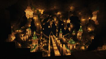 Atlantis / Underground / Lost City [IN CONSTRUCTION] Minecraft Map & Project