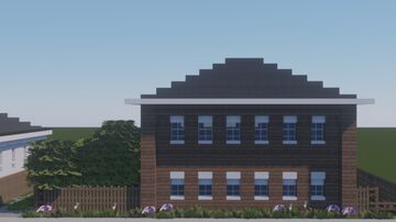 г. Далматово, улица Ленина, 103. / Dalmatovo, Lenin street, 103. Minecraft Map & Project