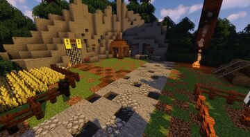 Nuketown Zombie map 1.17 Minecraft Map & Project