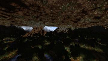 Underground dark world - 5000x5000 Minecraft Map & Project