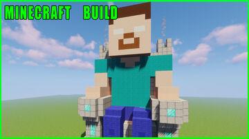Minecraft Build | Herobrine on the throne Minecraft Map & Project