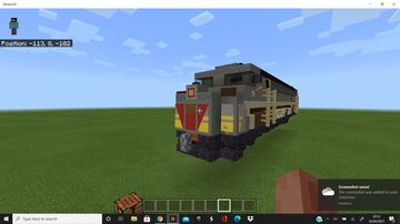 The Royal Canadian Pacific Loco. Minecraft Map & Project