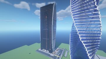 Moscow City | Москва сити Minecraft Map & Project