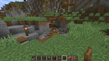 Wild West Frontier Settlement Minecraft Map & Project