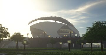 Turia Park, Valencia  (Real life recreation) Minecraft Map & Project