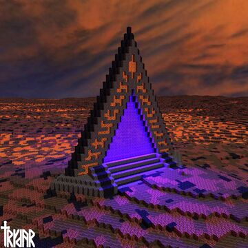 Dimension of....Doom?(read info and see images of portal, heaven Minecraft Map & Project