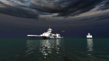 High Speed Patrol ship class  CT 2000 & 2500 Vietnam Coast Guard & Fisheries Resources Surveillance Minecraft Map & Project