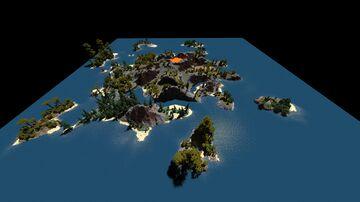 [1kx1k] Vulcano Island (Worldpainter) Minecraft Map & Project