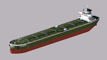 Panamax tanker Minecraft Map & Project