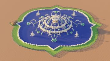 Chicago Buckingham Fountain (1:1 scale!) Minecraft Map & Project