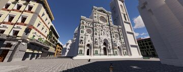 ⚜️Florence-Project⚜️ The storical city - Updates #3 Minecraft Map & Project