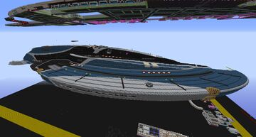 USS-Aventine | Star Trek Megabuild Minecraft Map & Project