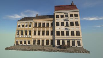 Baroque Townhouses Minecraft Map & Project