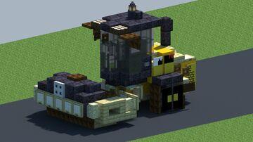 Cat CCS7, Asphalt compactor [With Download] Minecraft Map & Project