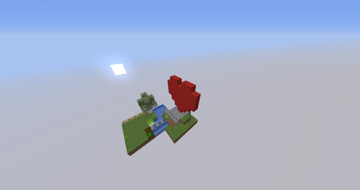 Like with the wool farm, you can build anything on the pedestal.