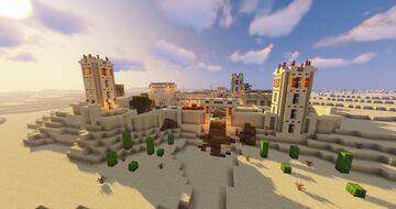 Hide & Seek: Desert Town Minecraft Map & Project