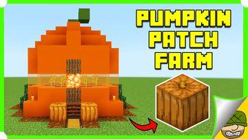 Pumpkin Patch Farm Minecraft Map & Project