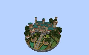 Overgrown manor Minecraft Map & Project
