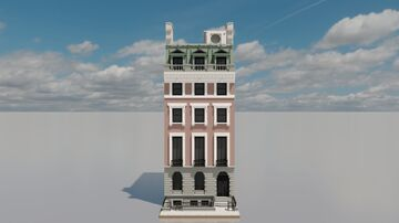 The Sidney Ripley Mansion - 5:1 scale Minecraft Map & Project