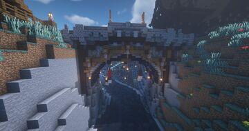 Nordic / Medieval Bridge #2 Project Aldinnheimr Minecraft Map & Project