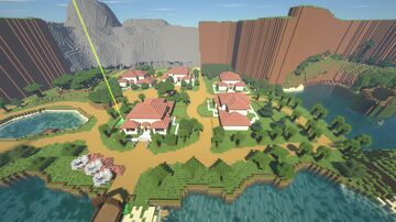 Emerald Isle (Massive Roleplay Map) Minecraft Map & Project