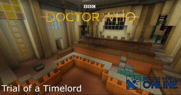 Trial of a Timelord - Doctor Who Online Minecraft Map & Project