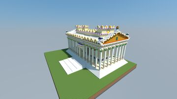 Temple of bel Palmyra 16.5 Minecraft Map & Project