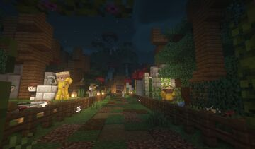 Love Park Minecraft Map & Project