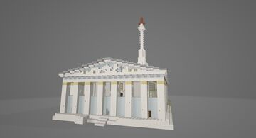 Parthenon Mosque (1500s) Minecraft Map & Project