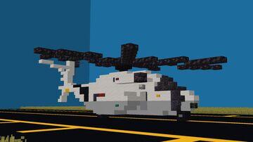 Japan Maritime Self-Defense Force (JMSDF) MH-53 Sea Dragon [1:1] Minecraft Map & Project