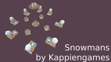 [FREE] Snowmans BedWars Map by Kappiengames 1.8.8-1.12.2 Minecraft Map & Project