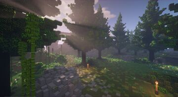 Hilly Woods Minecraft Map & Project