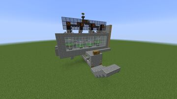 I4 Gasoline Combustion Engine Minecraft Map & Project