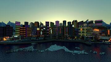 Cyberpunk City HUGE UPDATE [ 1.16 Minecraft RIM CITY ] Minecraft Map & Project