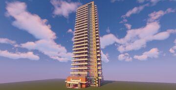 Modern Building (Map + Schematics) Minecraft Map & Project