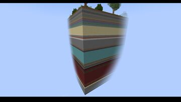 Minecraft but the world is in layers Minecraft Map & Project