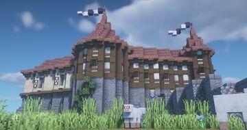 Castle Weißwacht Minecraft Map & Project