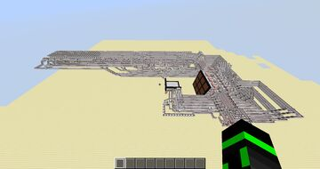 Redstone Tic-Tac-Toe with optional Unbeatable AI Mode Minecraft Map & Project