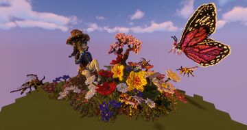 Everlasting flower garden Minecraft Map & Project