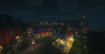 CoolCon (catscon) 2.0! The second ever iteration of the ever so popular convention!! Minecraft Map & Project