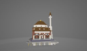 Tzistarakis Mosque Minecraft Map & Project
