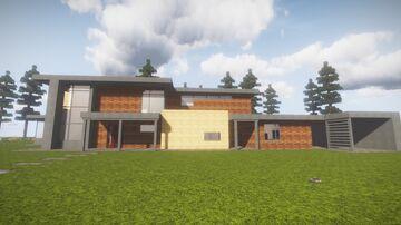 Modern house Little tiles Minecraft Map & Project