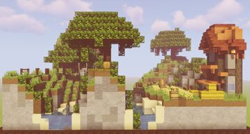 [32X32] Willow Hills Minecraft Map & Project