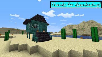 Stylish Non-Euclidean House[69 Downloads! AAAAAAAAAAH] Minecraft Map & Project
