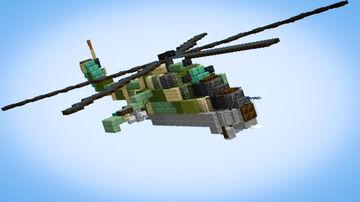 Mi-24 Hind Minecraft Map & Project