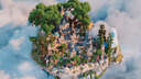 🏰FANTASY LOBBY WITH CASTLE 🏰 ► PhoenixBuilds Minecraft Map & Project